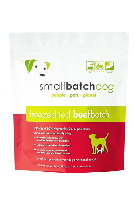 Small Batch Beef Freeze Dried Raw Dog Food