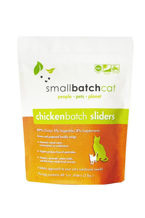 Small Batch Chicken Frozen Raw Cat Food
