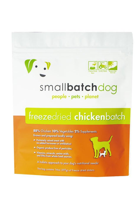 Small Batch Chicken Freeze Dried Raw Dog Food
