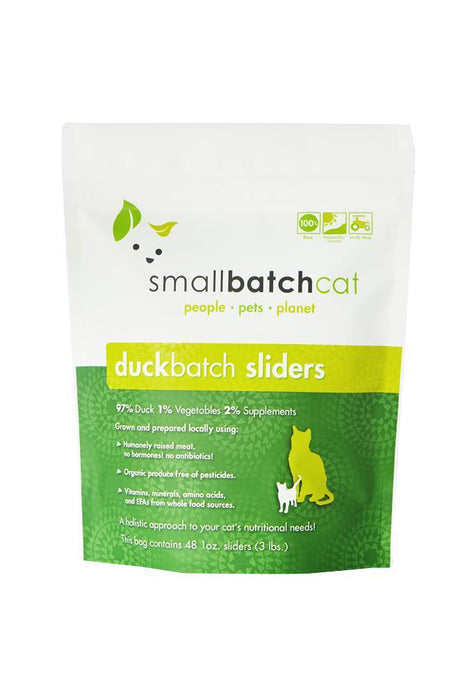 Small Batch Duck Frozen Raw Cat Food