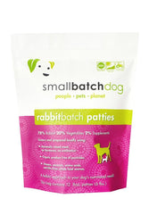 Small Batch Rabbit Frozen Raw Dog Food