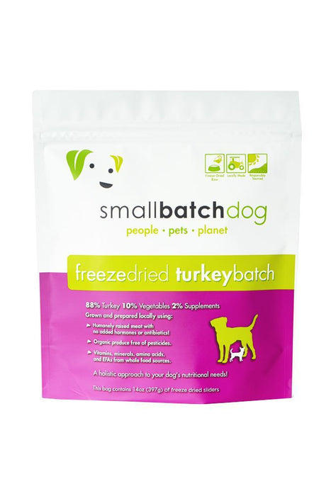 Small Batch Turkey Freeze Dried Raw Dog Food