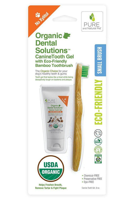 Pure and Natural Dental Brush Kit for Dogs, Small