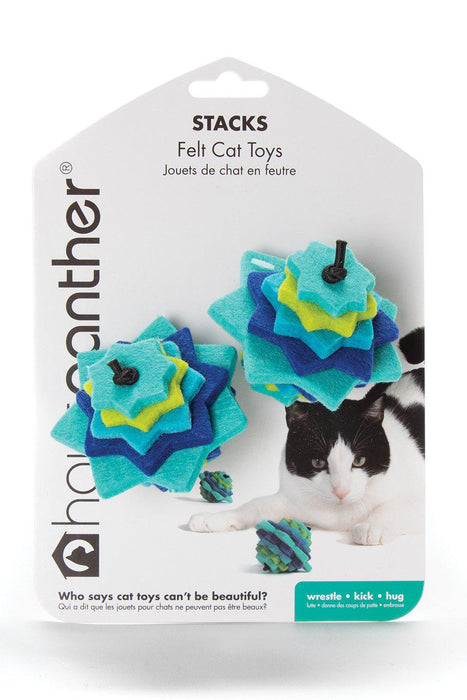 Hauspanther Stacks Ocean Cat Toy