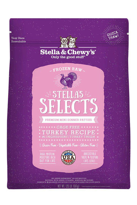 Stella and Chewy's Turkey Select Raw Cat Food