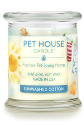 Pet House Candle, Sunwashed Cotton