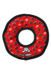 Tuffy's Ultimate Series Ring Red Dog Toy