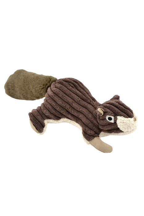 Tall Tails Plush Squirrel with Squeaker Dog Toy