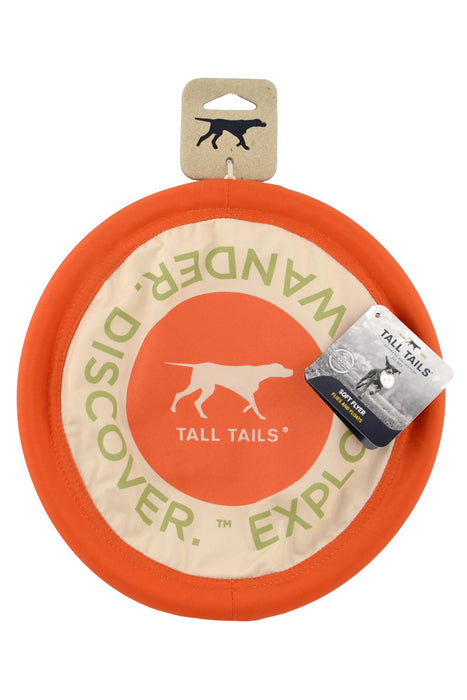 Tall Tails Soft Flying Disc Dog Toy