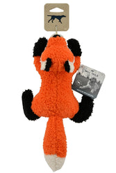 Tall Tails Plush Fox with Squeaker Dog Toy