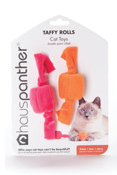 Hauspanther Taffy Rolls Zest Cat Toy