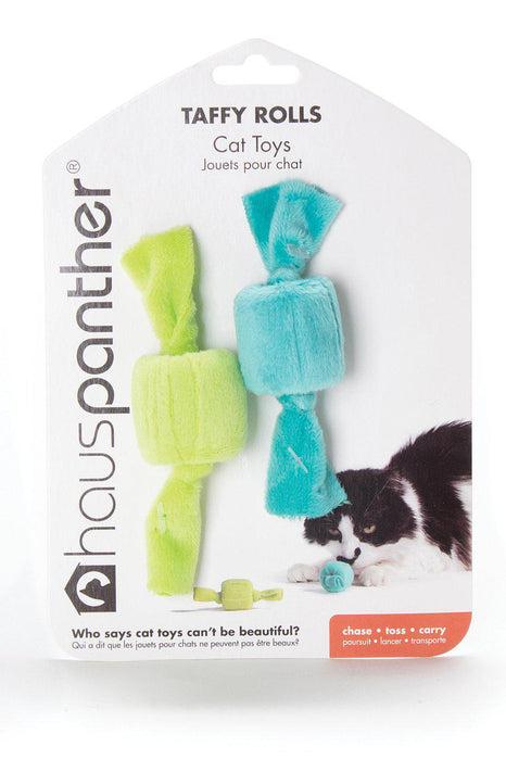 Hauspanther Taffy Rolls Ocean Cat Toy