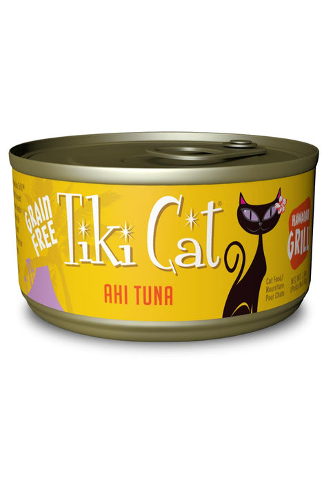 Tiki Cat Hawaiian Grill Cat Food Can
