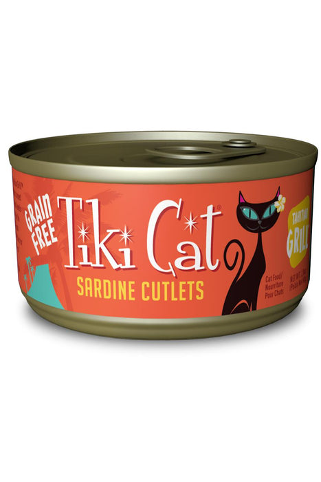 Tiki Cat Tahitian Grill Cat Food Can