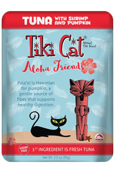Tiki Cat Aloha Friends Tuna With Shrimp And Pumpkin Cat Food Pouch