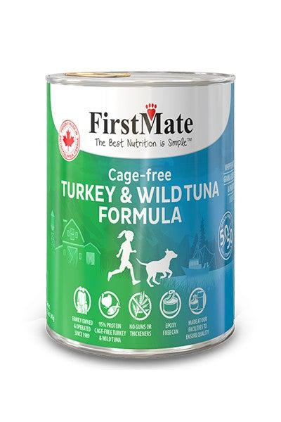 FirstMate 50/50 Turkey and Wild Tuna Canned Dog Food
