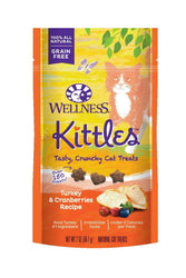 Kittles Turkey and Cranberry Crunchy Cat Treat