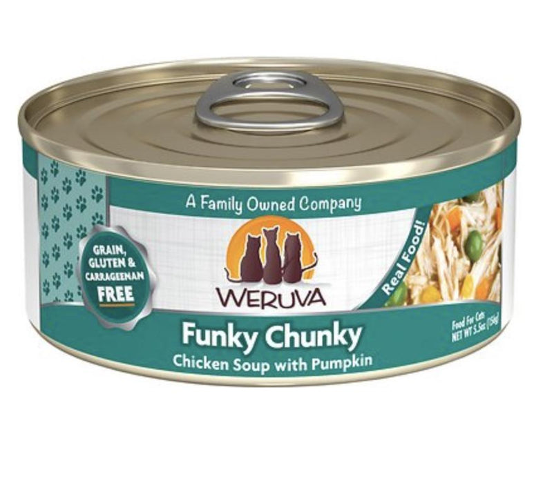 Weruva Funky Chunky Chicken Soup Canned Cat Food