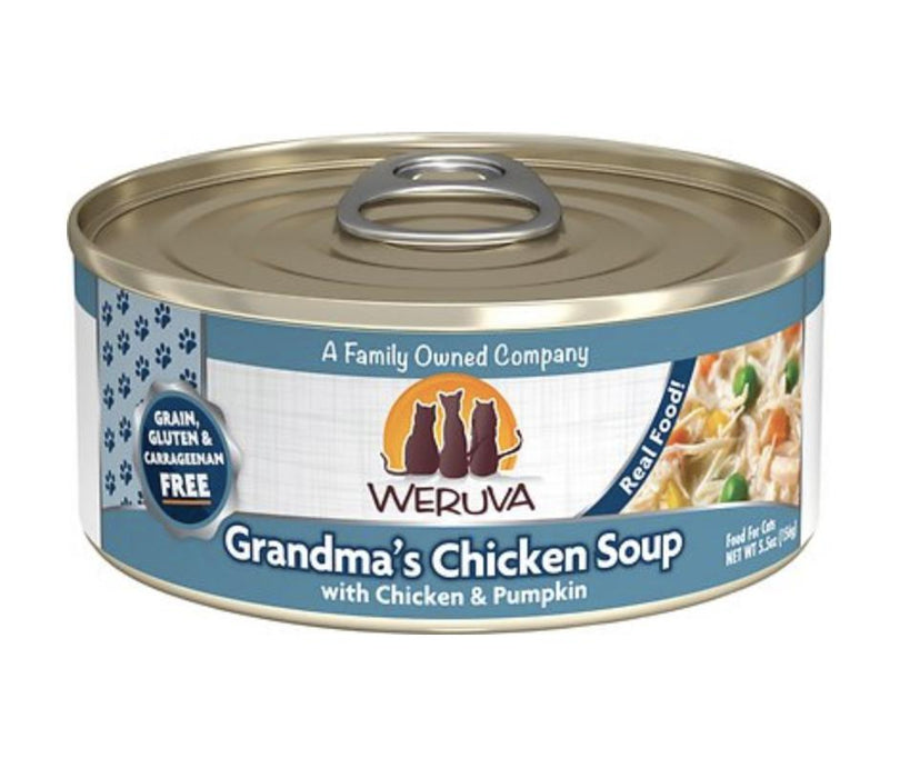 Weruva Grandma Chicken Soup Canned Cat Food