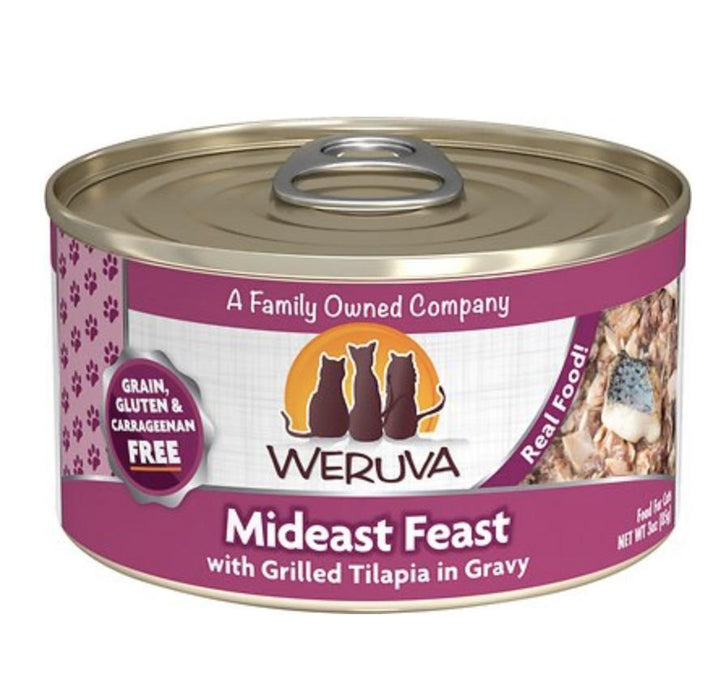 Weruva Mideast Feast Canned Cat Food