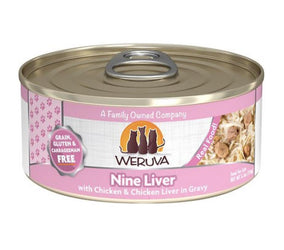 Weruva Nine Liver Canned Cat Food