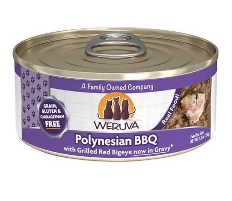 Weruva Polynesian BBQ Canned Cat Food