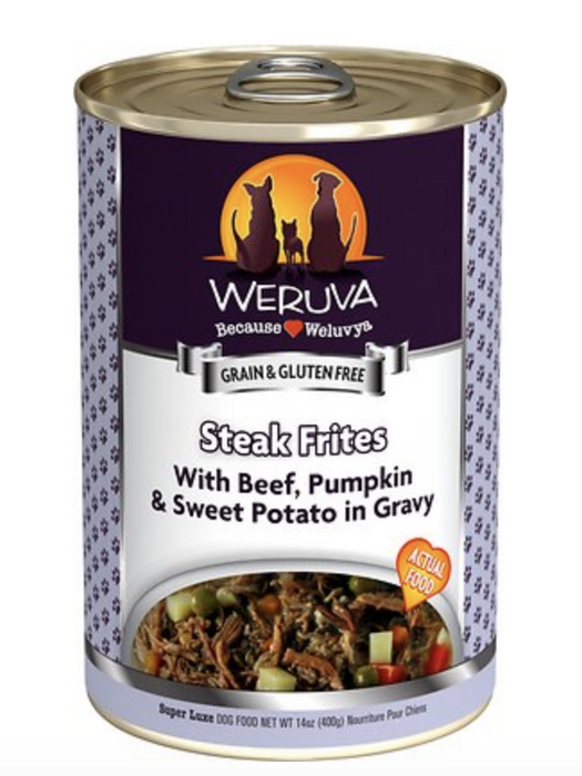 Weruva Steak Frites Canned Dog Food