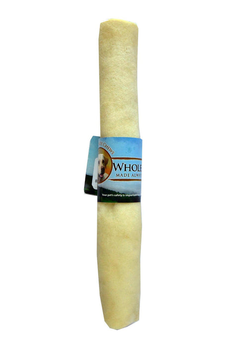 "Wholesome Hide 9-10"" Retriever Roll Dog Treat"