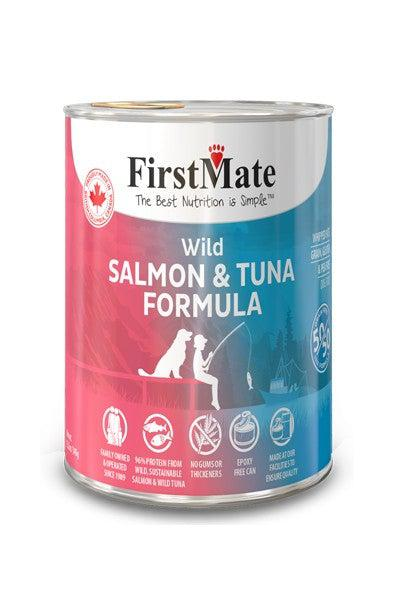 FirstMate 50/50 Wild Salmon and Tuna Canned Dog Food