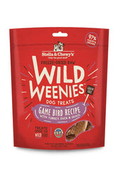 Stella and Chewy's Wild Weenies Game Bird Dog Treats
