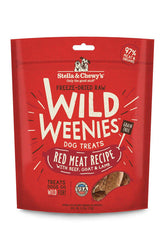 Stella and Chewy's Wild Weenies Red Meat Dog Treats