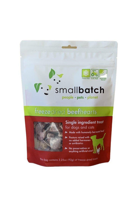 Small Batch Freeze-Dried Beef Heart Dog Treats