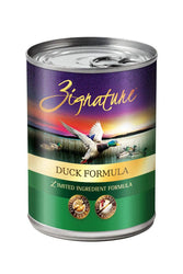 Zignature Duck Canned Dog Food