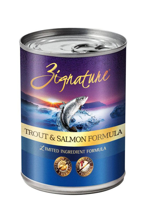 Zignature Trout & Salmon Canned Dog Food