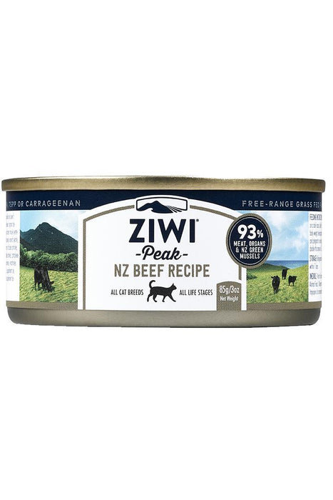 Ziwi Peak Beef Recipe Canned Cat Food