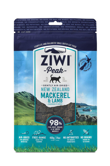 Ziwi Peak Air-Dried Mackerel & Lamb Cat Food