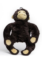 Steel Dog Ruffian Safari Monkey Dog Toy