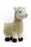 Steel Dog Barnyard Ballers Llama Dog Toy
