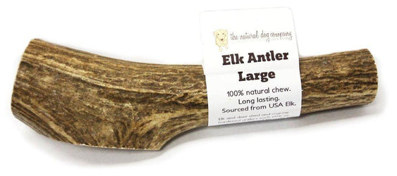 Natural Dog Co. Elk Antler, Large