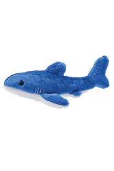 Fluff and Tuff Baby Bruce Shark Stuffed Dog Toy