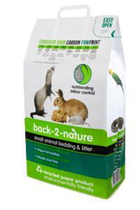 Fibrecycle Back-2-Nature Small Animal Paper Bedding & Litter