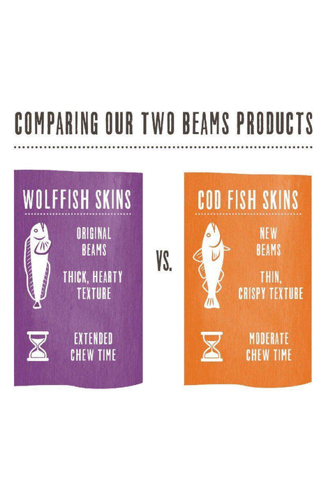 The Honest Kitchen Wolffish Skin Ocean Chews