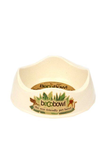 Beco Medium Dog Bowl Natural