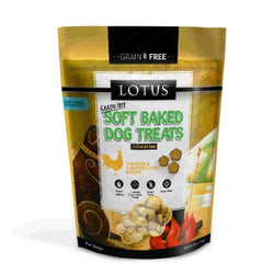 Lotus Soft Baked Chicken & Liver Dog Treats