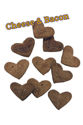 Tomlinson's Cheese & Bacon Large Heart Bulk Biscuits