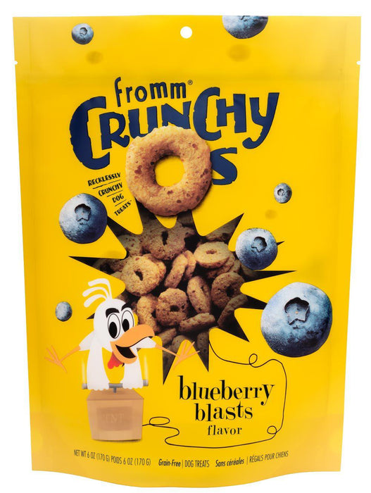 Fromm Crunchy Os Blueberry Blast Dog Treats