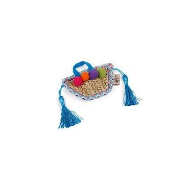all for paws straw tassle cat toy