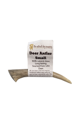 Natural Dog Co. Deer Antler, Small