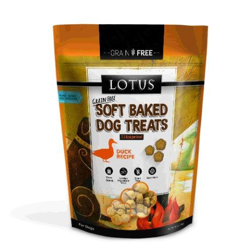 Lotus Soft Baked Duck Dog Treats