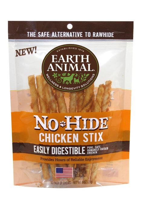 Earth Animal No-Hide Chicken Stix dog treats